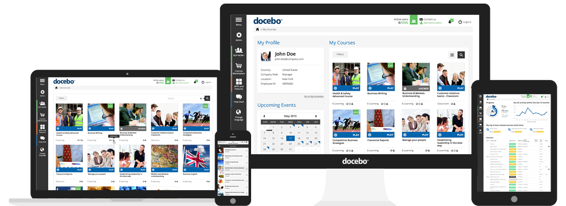 Docebo Cloud LMS - Best Responsive E-Learning Platform