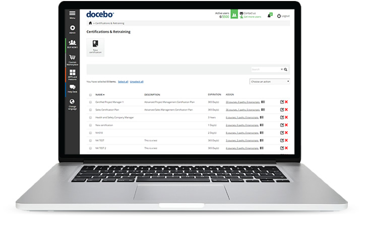 Docebo Certification and Retraining